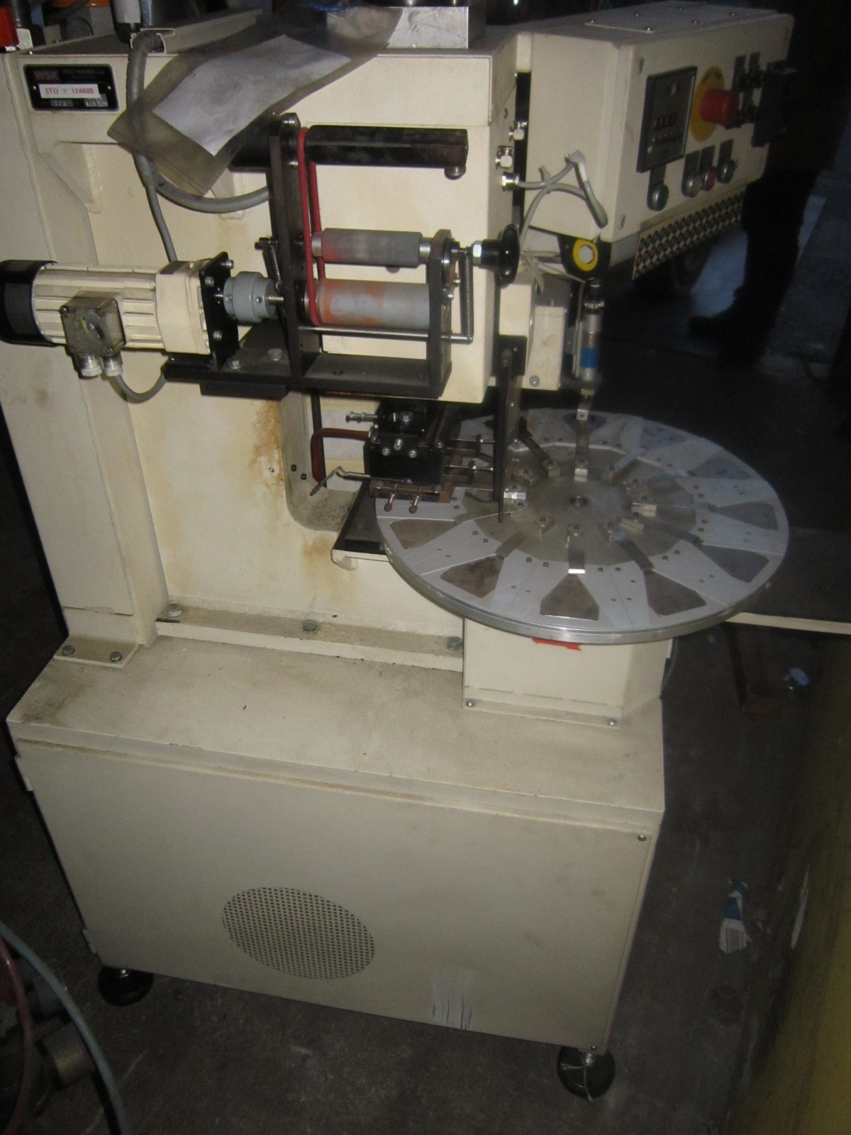 Sieck wsk pmf type 723 hydraulic rotary table embossing for 12 rotary table