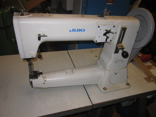 Sieck SOLD JUKI TSC 40 Heavy Duty Arm Type Sewing Machine With Amazing Juki Heavy Duty Sewing Machine