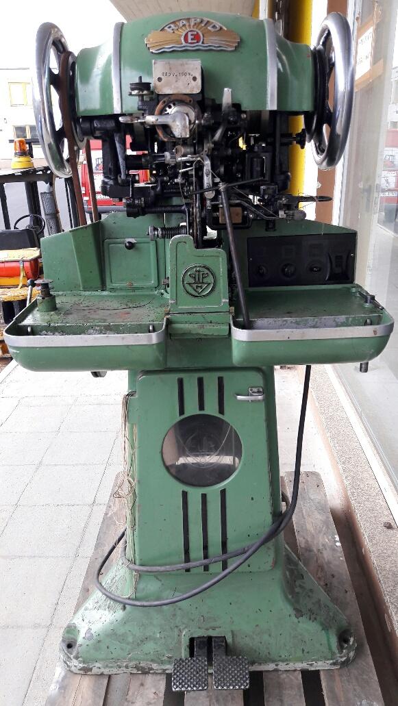 Sieck Pedersen Type Rapid 317 Heavy Duty Outsole Stitcher