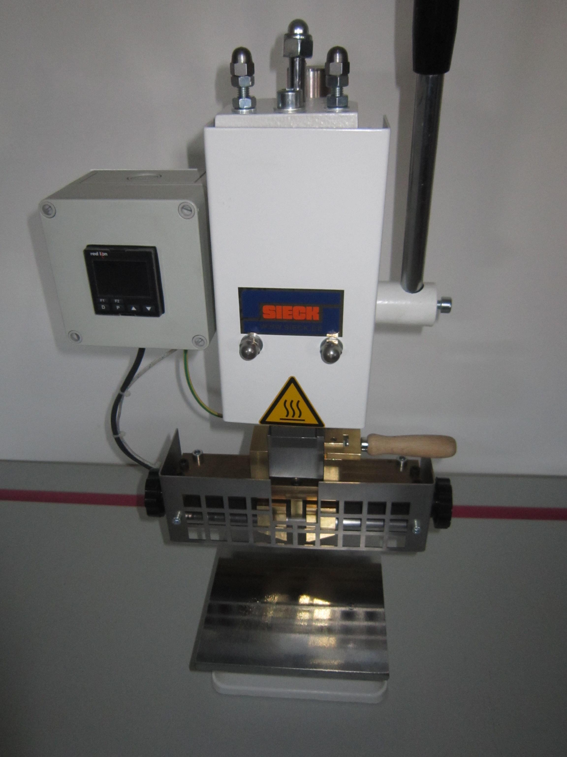 Sieck SIECK Typ UHP KWIK Prägemaschine für Initialien mit